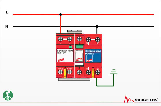 Lightening Arrestor Wiring Diagram - Wiring Diagram